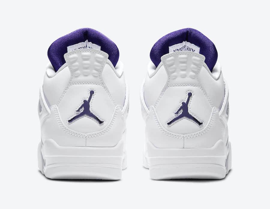 """纯白金属AJ4套装!Air Jordan 4""""Metallic Pack""""将于5月20日发售!"""