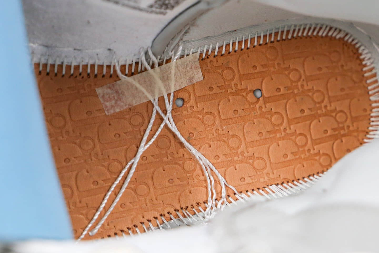 乔丹Dior x Air Jordan 1 High OG纯原版本迪奥联名款35周年限量联名款AJ1原盒原标正确鞋面材质 货号:CQ7629-013