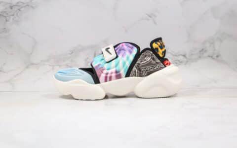 耐克Nike Aqua Rift Summit White纯原版本分脚趾二代老爹鞋炫彩撞色原楦头纸板打造原盒原标 货号:CW2624-101