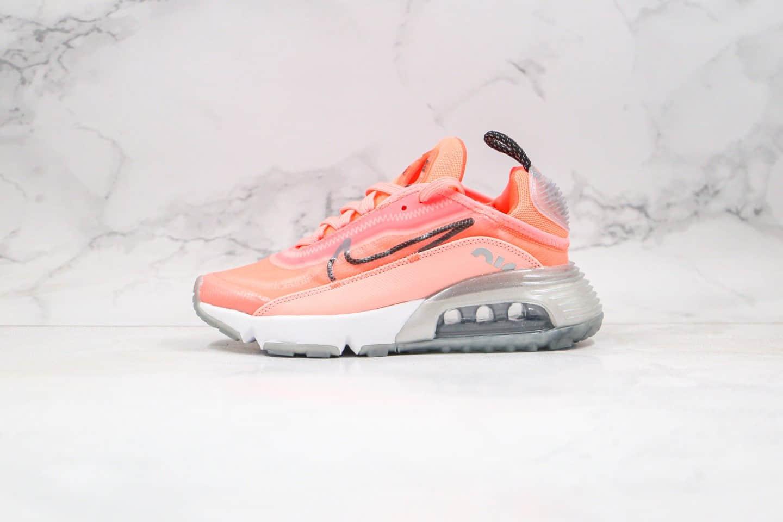 耐克Nike Air Max 2090纯原版本气垫鞋荧光粉红色内置真实气垫原盒原标 货号:CT