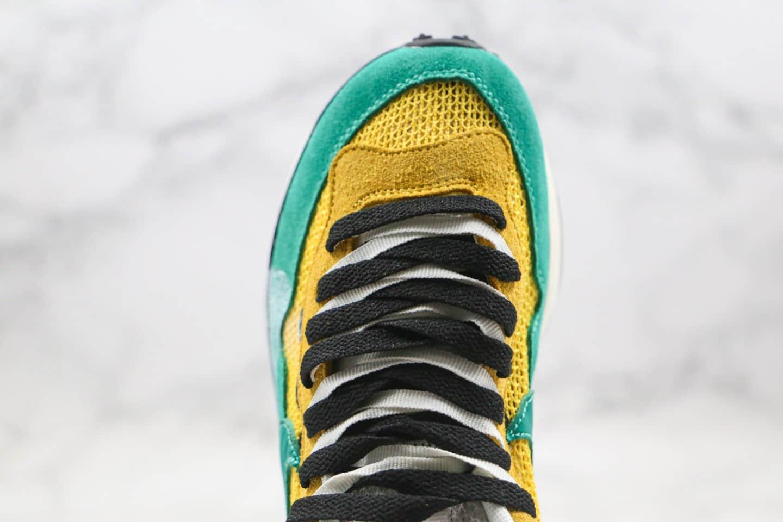 耐克Sacai x Nike Pegasus VaporFly SP Green Yellow Black White纯原版本华夫联名款重叠双钩走秀款黄绿色原鞋开模一比一打造 货号:BV0073-103