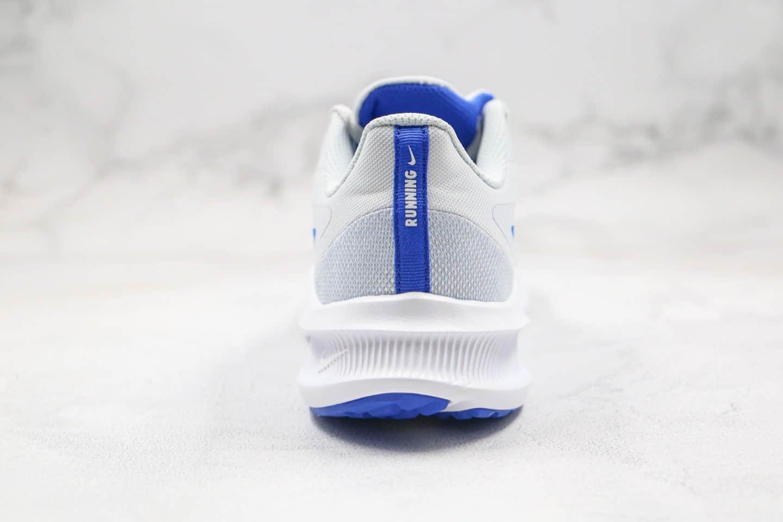 耐克Nike Downshimdter 10纯原版本登月十代白蓝色原厂档案数据开发打造 货号:CI9981-001