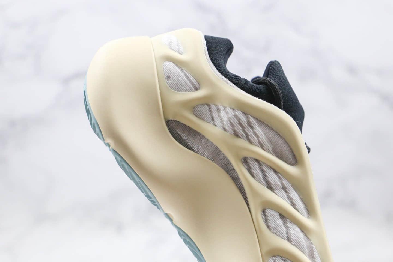 阿迪达斯Adidas YEEZY 700 V3 Azael纯原版本椰子700V3异形米白色原厂鞋面材质正确Bounce缓震科技 货号:FW4980