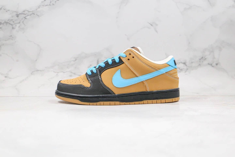 耐克Nike Dunk Low x Slam City Pro SB纯原版本低帮SB DUNK板鞋联名款耶稣蓝棕色内置真Zoom气垫原盒配件 货号:304292-201