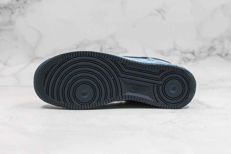 耐克Levi's x Nike Air Force 1 Low纯原版本李维斯联名款低帮空军一号水洗牛仔配色内置气垫正确鞋面材质 货号:CV0670-447