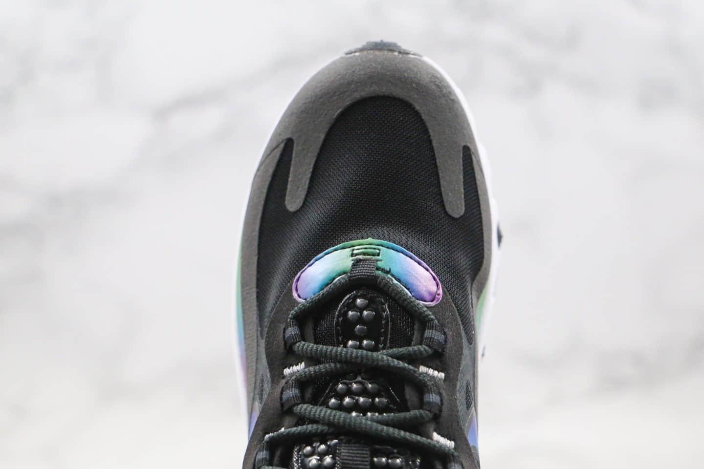 耐克Nike React Air Max 270V2纯原版本气垫鞋二代黑彩色内置真小潘气垫原盒原标 货号:CT5064-001