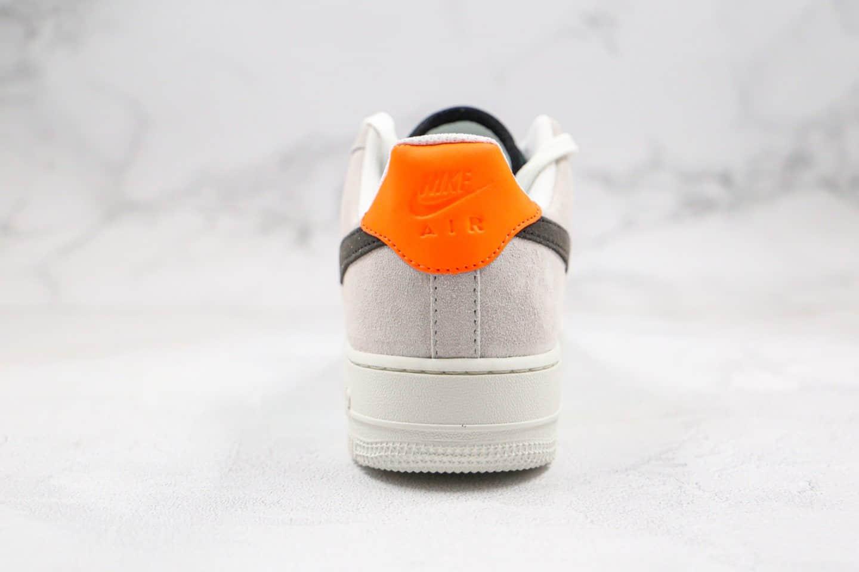 耐克Nike Air Force 1 Low IridescentSnakeskin纯原版本低帮空军一号灰黑金色鱼鳞纹全息蛇纹内置气垫正确鞋面卡色 货号:CW2657-001