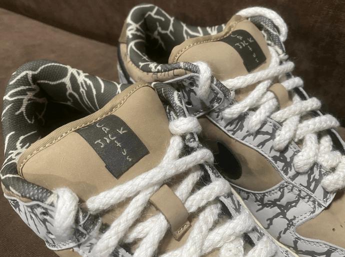 Travis Scott x Nike SB Dunk Low早期样品实物细节图曝光!或将市售!