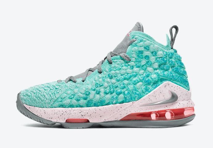 南海岸氛围!全新Nike LeBron 17释出官图! 货号:BQ5594-444