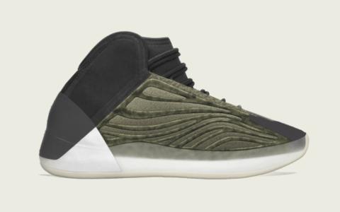 """椰子篮球鞋新配色有点酷炫!Yeezy Quantum"""" Barium""""将于6月25日发售! 货号:H68771"""