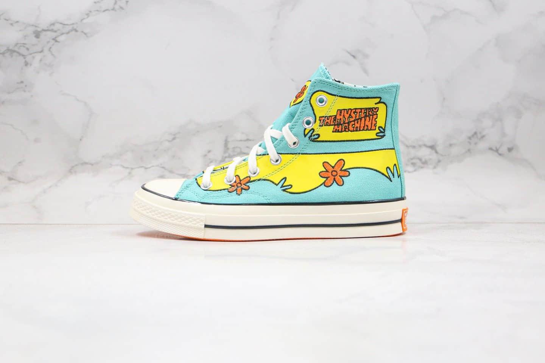 匡威Converse x Scooby-Doo Chuck 1970s史酷比联名
