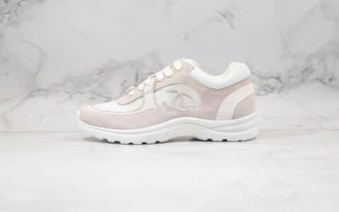 香奈儿Chanel 20ss纯原版本网纱透气运动鞋白色原鞋开模全套包装