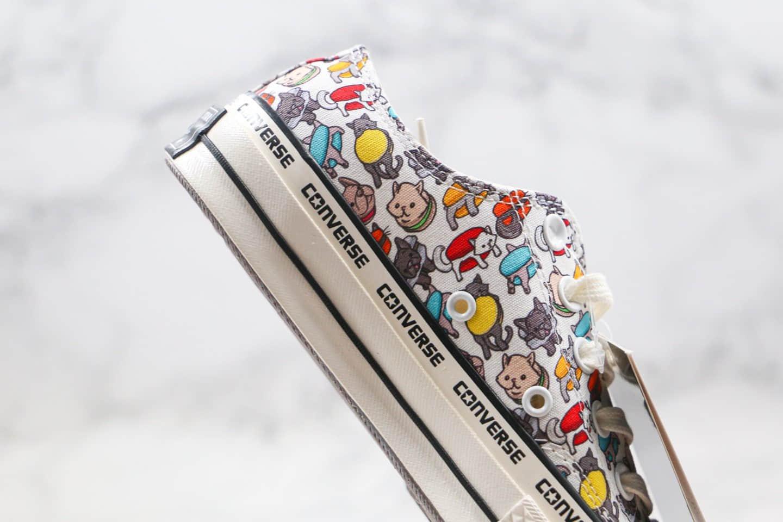 匡威Converse Chunk 70s公司级版本低帮串标漫画马卡龙小狗帆布鞋原档案数据开发原厂硫化大底