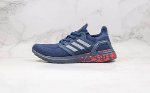 阿迪达斯Adidas Ultra Boost PB纯原版本爆米花跑鞋UB6.0蓝红色原档案数据开发 货号:FY3451