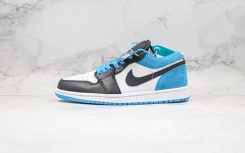 """乔丹Air Jordan 1 Low """"Laser Blue""""纯原版本低帮AJ1激光蓝原鞋购回开模打版 货号:CK3022-004"""