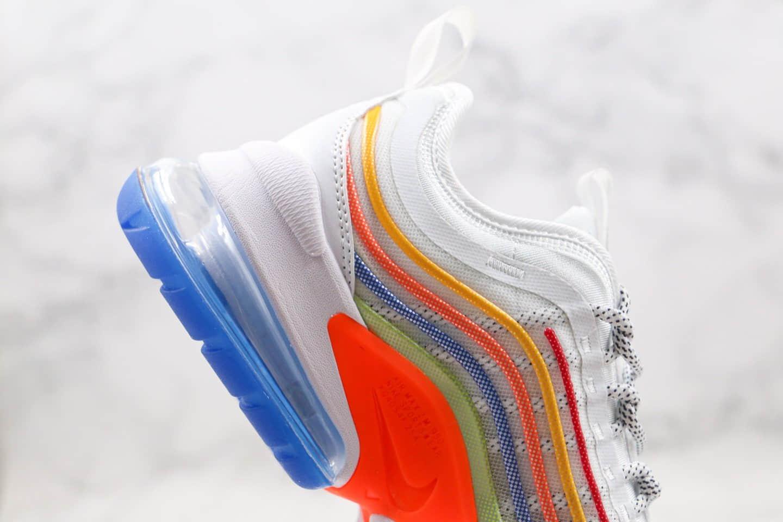 耐克Nike Air Max Zoom 950 Af1-TYpe 950纯原版本超跑系列max950彩虹色内置真实气垫原档案数据开发 货号:CJ6700-200