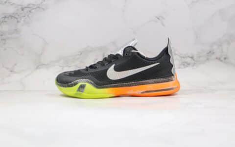 耐克NIKE Kobe X EP 10纯原版本科比十代篮球鞋黑橙色原鞋开模一比一打造 货号:742546-097