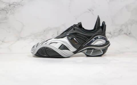 巴黎世家Balenciaga tyrex Sneaker Bicol Or Rubber Mesh Not Wash Black纯原版本黑银色5.0原档案数据开发原盒配件齐全