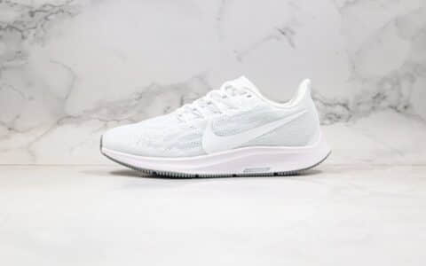 耐克Nike Air Zoom Pegasus 36纯原版本登月36代户外跑鞋白色区别市面通货版本 货号:AQ2203-100