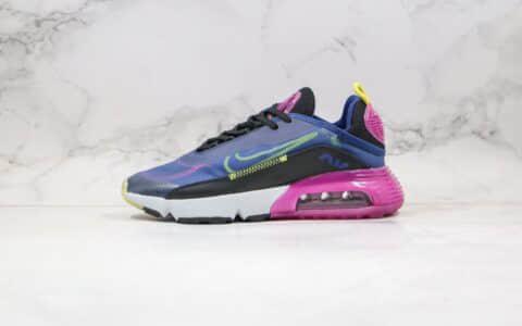 耐克Nike Air Max 2090纯原版本气垫鞋蓝紫色原档案数据开发原盒原标 货号:CK2612-400