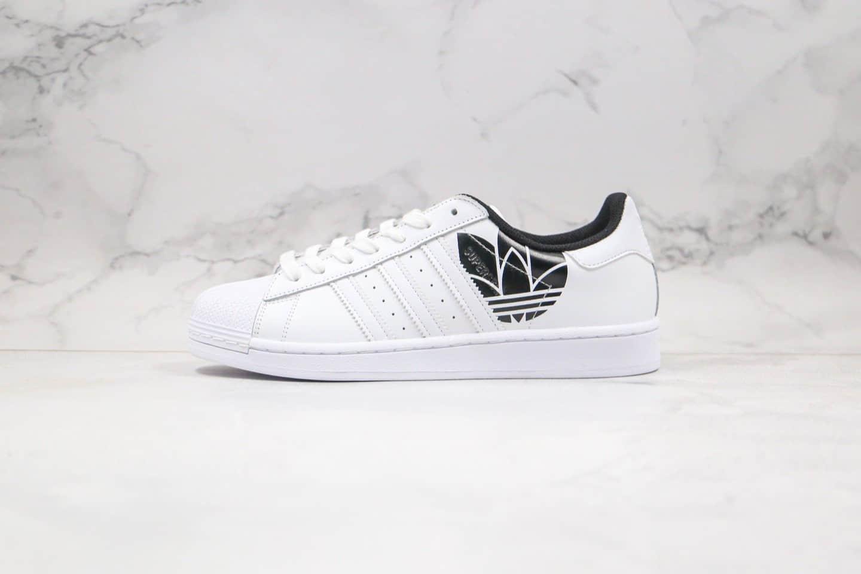 阿迪达斯Adidas Superstar三叶草贝壳头板鞋皇