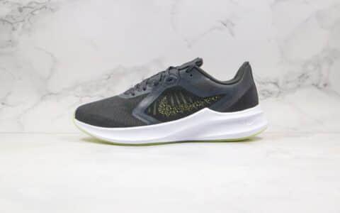 耐克Nike Downshimdter 10纯原版本登月十代黑金色泼墨慢跑鞋原档案数据开发 货号:CI9983-001