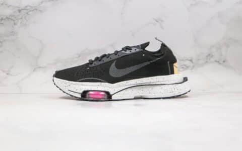 耐克Nike Air Zoom Type N.354纯原版本解构华夫跑鞋麂皮黑白色原楦原数据开发 货号:CJ2033-003