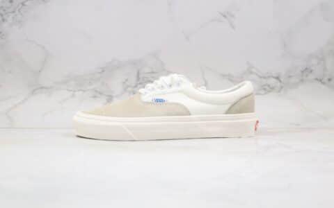 万斯Vans Era OG LX公司级版本低帮板鞋灰白麂皮原厂硫化大底原盒原标