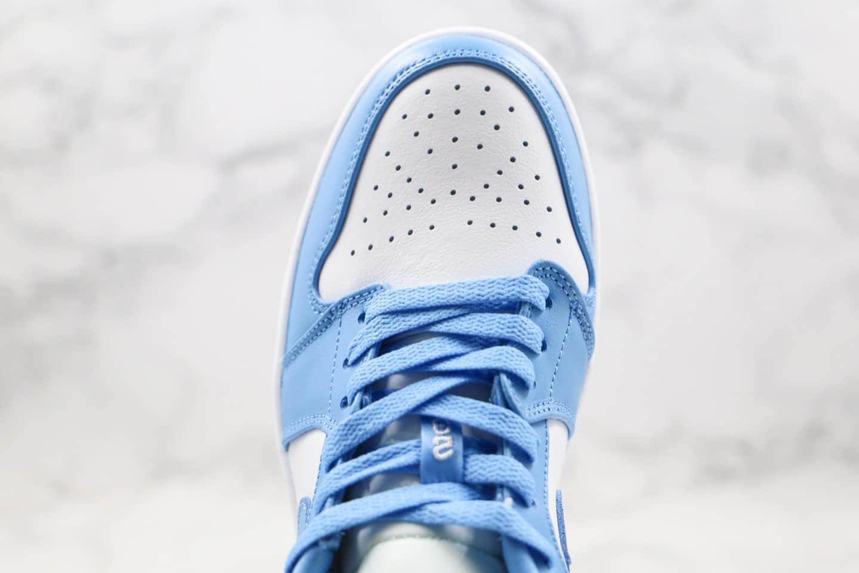 乔丹Air Jordan 1 Low纯原版本低帮AJ1北卡蓝正确鞋面卡色原档案数据开发 货号:AO9944-441
