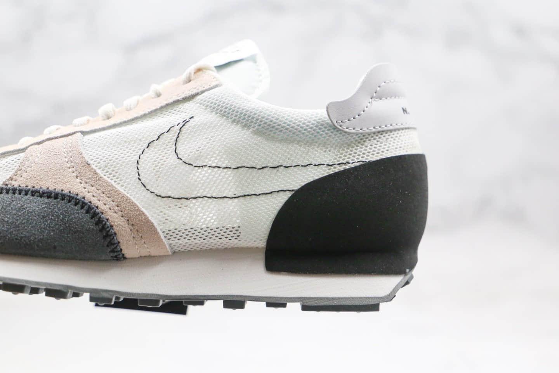耐克Nike Dbreak SP N.354纯原版本华夫赛车慢跑鞋解构联名款白黑灰色区别市面通货版本 货号:CJ1156-100