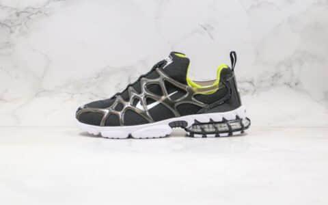 耐克Nike Air Zoom Spiridon Caged 2纯原版本斯图西袜子鞋镂空黑色内置气垫原档案数据开发 货号:CJ9918-001