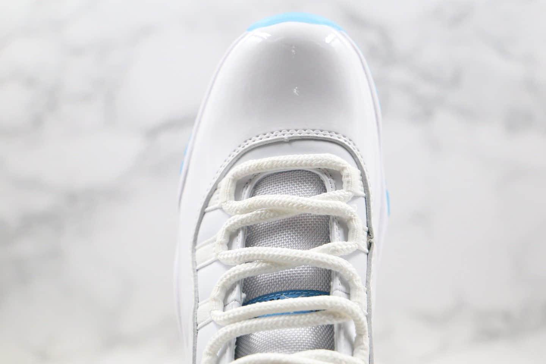 """乔丹Air Jordan 11""""Legend Blue""""纯原版本AJ11传奇蓝原厂漆面真碳 货号:378037-117"""