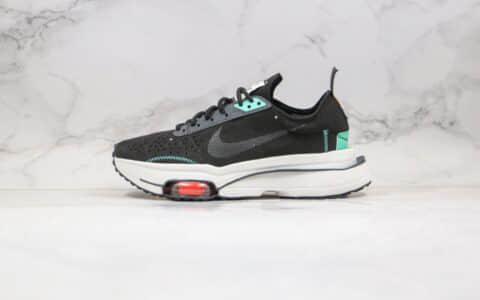 耐克Nike Air Zoom Type纯原版本解构气垫跑鞋黑绿配色原档案数据开发 货号:CJ2033-010
