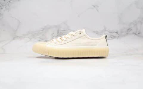 卡帕Kappa Banda纯原版本黄子韬同款低帮冰淇淋米白色饼干鞋原鞋开模一比一打造 货号:K0AW5VS18