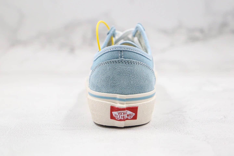 万斯Vans Style 36 Decon SF公司级版本半月包头低帮水心蓝色杀人鲸硫化板鞋内置钢印原厂硫化大底