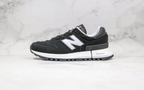 新百伦Comme Des Garcons Homme x New Balance Rc1300纯原版本NB1300复古跑鞋黑白色独立大底私模 货号:MS1300WJ