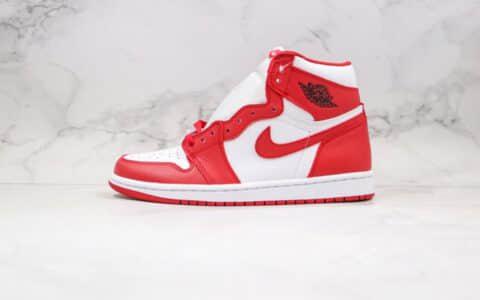 乔丹Air Jordan 1 High '85 New Beginnings纯原版本高帮AJ1翻转白红芝加哥配色正确后跟定型原盒原标 货号:CQ4921-601