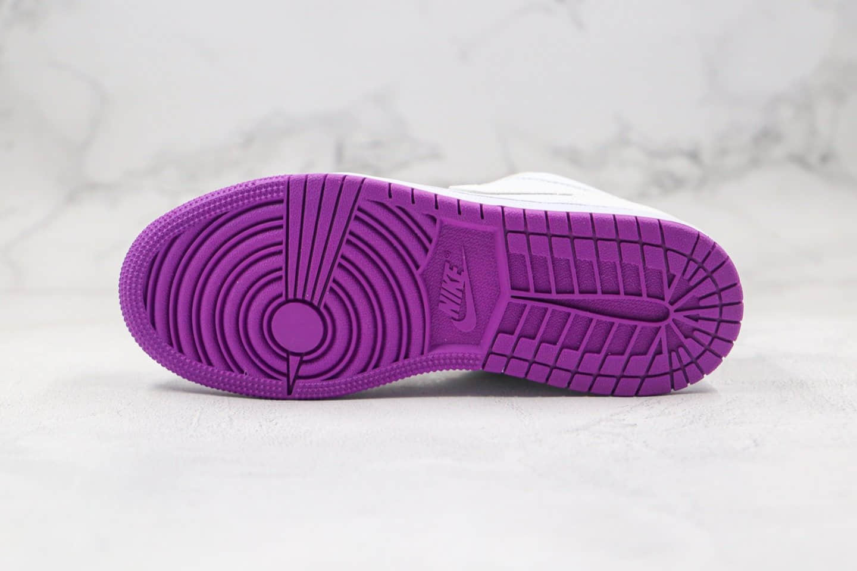 乔丹Air Jordan low纯原版本低帮AJ1变色龙白粉色温变原盒原标原档案数据开发 货号:555112-ID