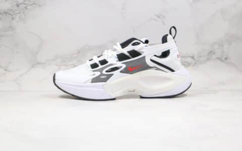 耐克Nike Signal DIMSIX Nike N110 D MS X Phantom纯原版本韩代新品解构幻影信号老爹鞋白黑色正确蝉翼网纱面 货号:AT5303-128