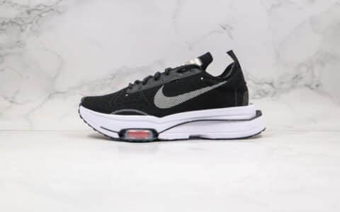 耐克Nike Air Zoom Type N.354纯原版本华夫麂皮系列N.354解构复古慢跑鞋黑白色原档案数据开发 货号:CJ2033-001