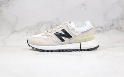 新百伦New Balance纯原版本复古老爹鞋NB1300米白黑色原盒原标区别市面通货版本 货号:WS1300WJ