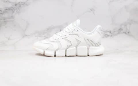 阿迪达斯adidas Climacool纯原版本清风系列毛毛虫爆米花跑鞋白色原档案数据开发 货号:FX7842