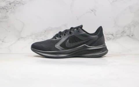 耐克Nike Downshimdter 10纯原版本登月十代跑步鞋全黑色正确原装组合大底原盒原标 货号:CI9983-002