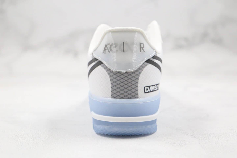 耐克af1_耐克Nike Air Force 1 React QS Light Bone纯原版本低帮空军一号水晶底 ...
