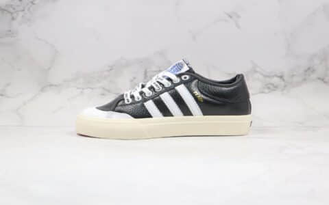 阿迪达斯Adidas Matchcourt X Ttap Lord纯原版本低帮校园板鞋皮面字母印花鞋带原盒原标 货号:CG5614