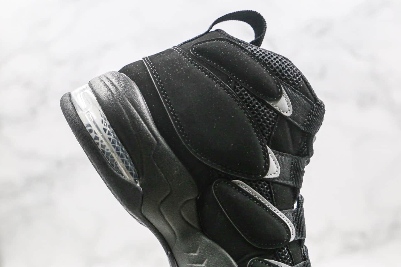耐克Nike Air Max270 Uptempo'94纯原版本皮蓬二代高帮篮球鞋黑色内置真实气垫原盒原标 货号:472490-010