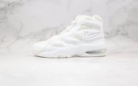 耐克Nike Air Max270 Uptempo'94纯原版本皮蓬二代篮球鞋白色原档案数据开发原盒原标 货号:922934-100