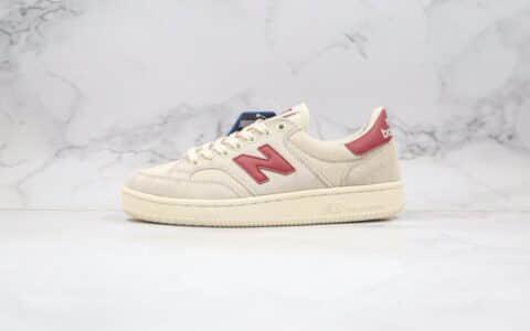 公司级版本新百伦NB板鞋米白红色出货