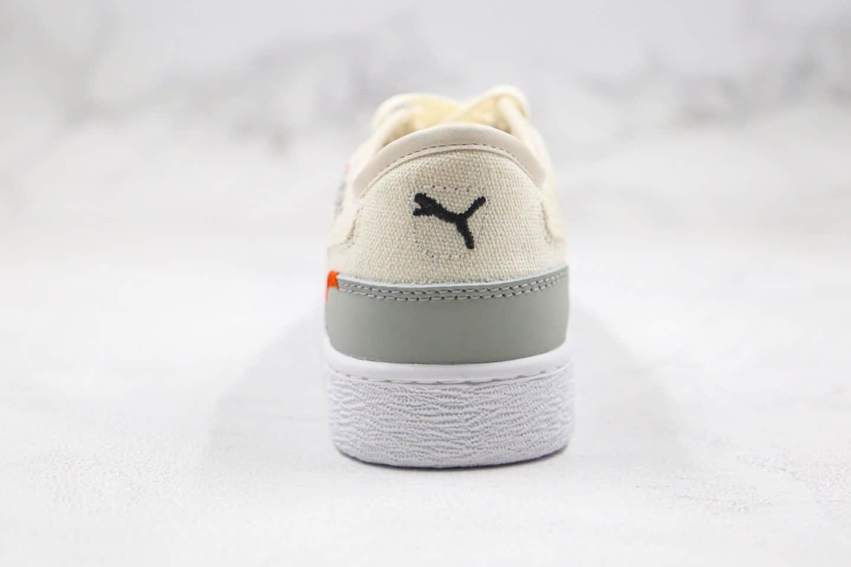 彪马Puma x Central Saint Martins Ralph纯原版本节约用水联名款低帮字母涂鸦米白色板鞋原盒原标 货号:372713-01