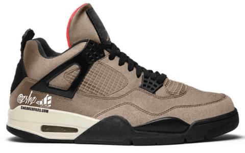 """可撕鞋面!全新Air Jordan 4"""" Taupe Haze""""首度曝光!明年登场! 货号:DB0732-200"""